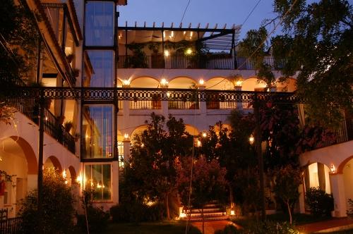 Patio del Hotel Varinia Serena